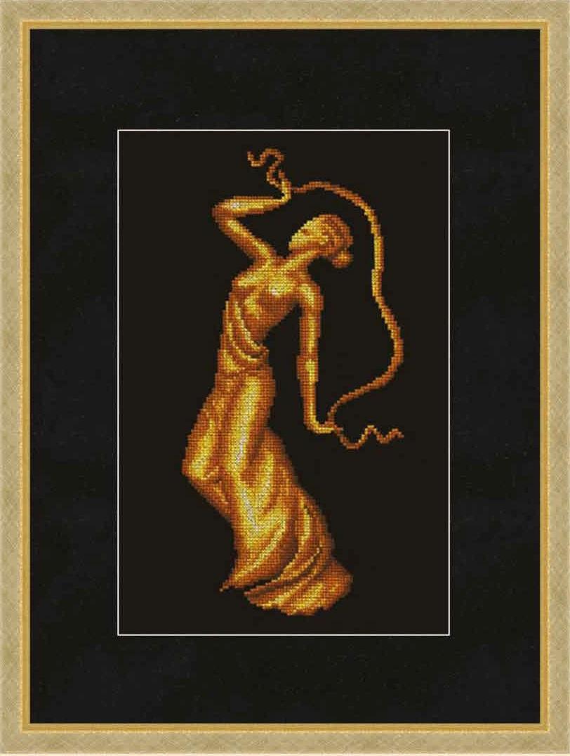 Вышивка золотом схемы 40